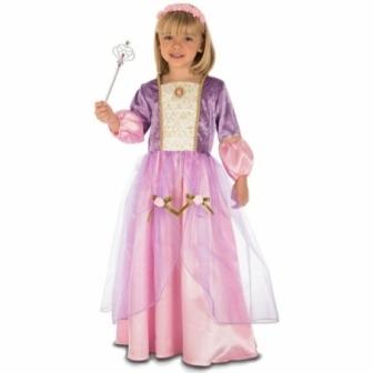 Disfraz Princesa morada bebe
