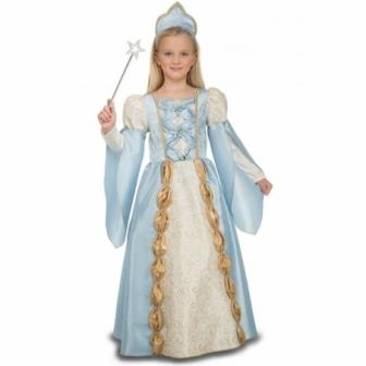 Disfraz Reina azul para niña