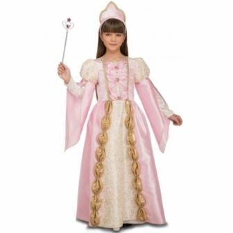 Disfraz Reina Rosa para niña
