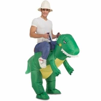 Disfraz Dino Hinchable Unisex T.ML