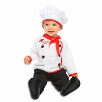 Disfraz Bebé Cocinero unisex