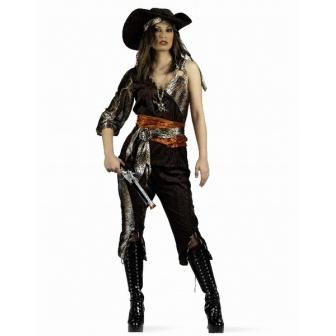 Disfraz Pirata Aventurera para mujer