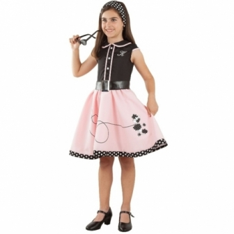 Disfraz Pink lady  niña