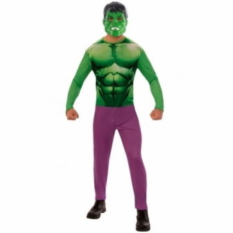 Disfraz Hulk OPP para Hombre