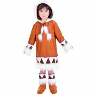 Disfraz Esquimal niña  lux