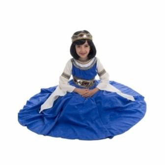 Disfraz Reina Medieval para niña