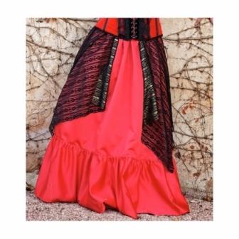 Falda Roja Maruxa