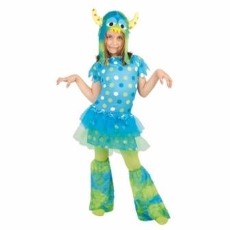 Disfraz Monstruito Azul Infantil