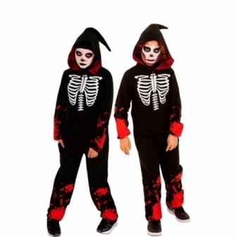 Disfraz Kigu bloody Skeleton infantil