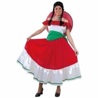 Disfraz Mejicana para mujer