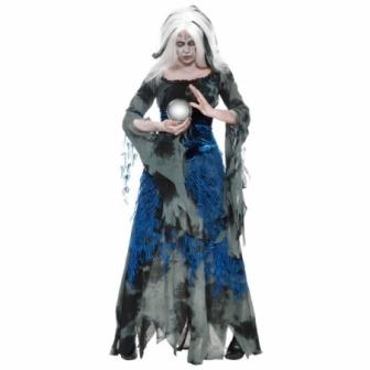 Disfraz Vidente-hechicera malvada mujer
