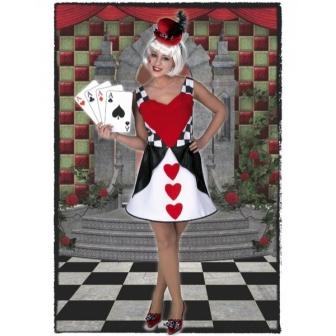 Disfraz Reina De Corazónes Mujer