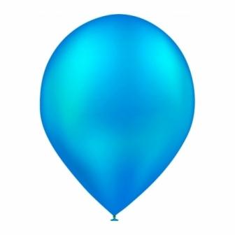 Bolsa 50 Globos metalizados azul