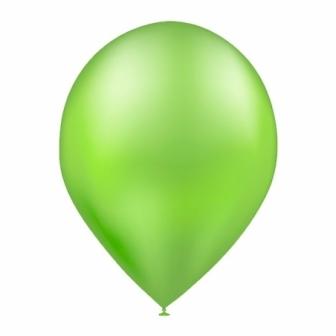 Bolsa 50 Globos metalizados verde