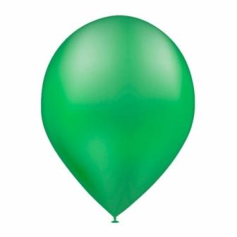 Bolsa 50 Globos metalizados verde bosque