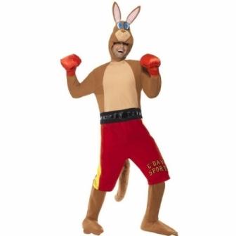 Disfraz de Canguro boxeador adulto