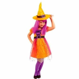 Disfraz Bruja Superstar para niña