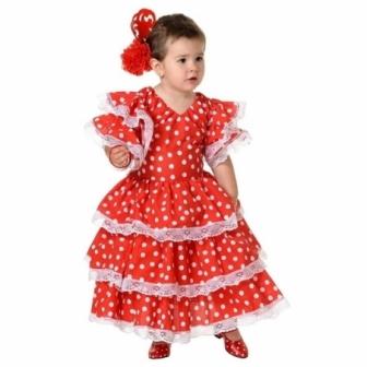 Disfraz flamenca bebe e infantil
