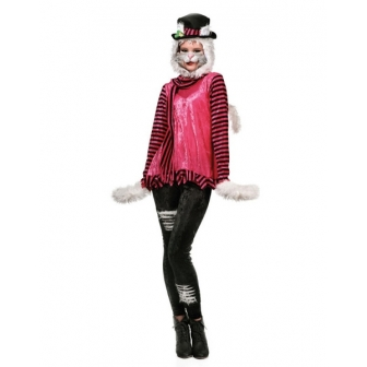 Disfraz Gatita Michi Mujer Adulta