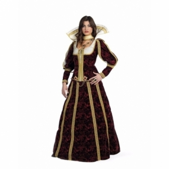 Disfraz Lucrecia deluxe  para mujer