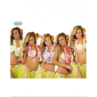 Collar Hawaiano Colores Surtidos