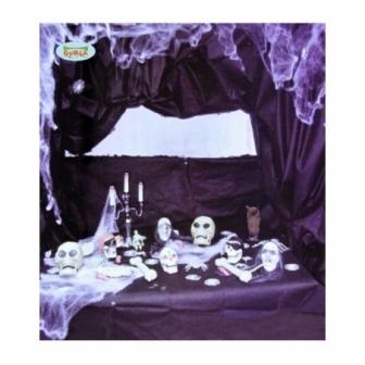 Tela Negra decoracion Halloween 122x183