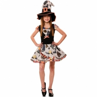 Disfraz Bruja Divertida infantil