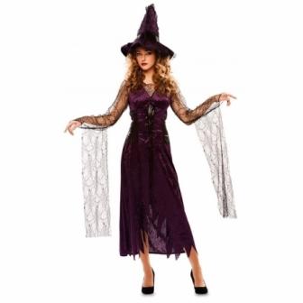 Disfraz Bruja Lila  mujer