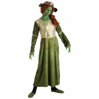 Disfraz Ogresa Verde para niña