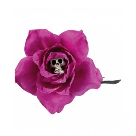 Rosa con calavera 42 cm