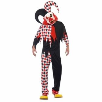 Disfraz Arlequin loco+mascara  adulto