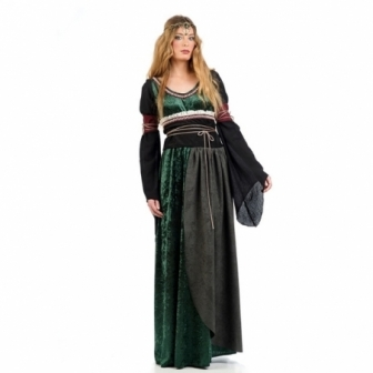 Traje Medieval Celta Deluxe mujer