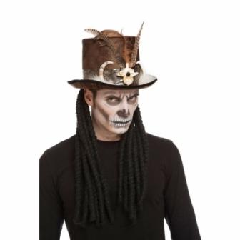 Chistera Voodoo con Rastas adulto