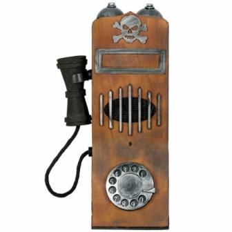 Telefono Antiguo 15x35cms luz y sonido