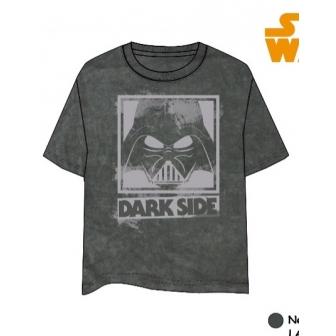 Camiseta Star Wars Adulto Negro