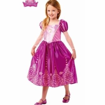 Disfraz Rapunzel classic deluxe niña