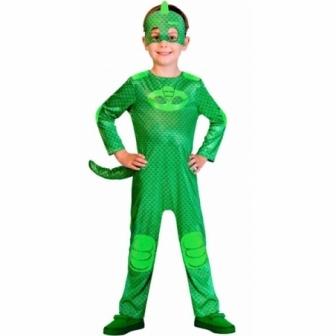 Disfraz PJ MASK Gekko verde infantil