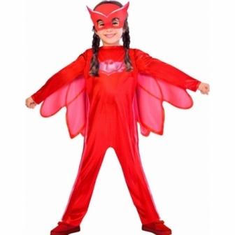 Disfraz PJ MASK  Owlette Roja  infantil