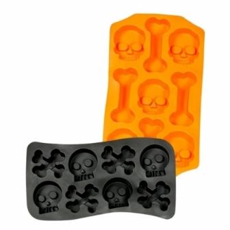 Molde cubitos Halloween 12x22 cms.