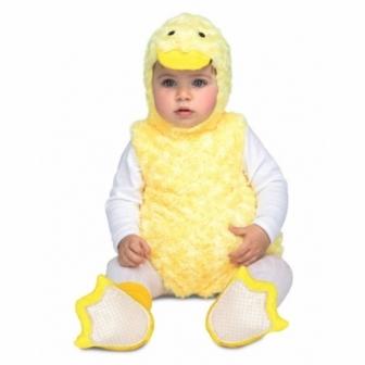 Disfraz Patito peluche bebe