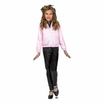 Disfraz Chaqueta Pink Lady niña