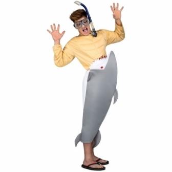 Disfraz Tiburón Hambriento unisex