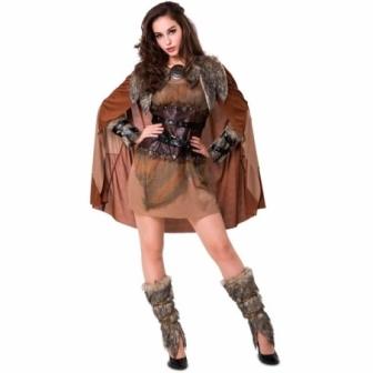 Disfraz Vikinga Nordica para mujer
