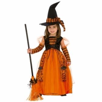 Disfraz Bruja Brillante infantil