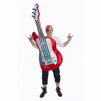 Disfraz Guitarra eléctrica para adulto