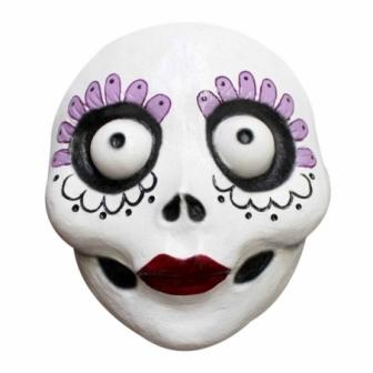 Máscara Catrina Divertida Látex