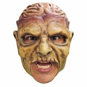 Máscara Zombie latex boca libre