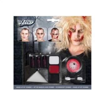 Kit Make up Zombie completo