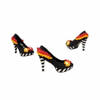 Par de Zapatos Dia muertos mujer