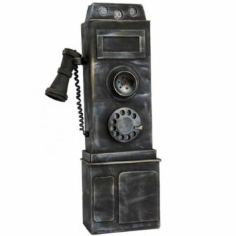 Teléfono Vintage decoracion 19x48cm